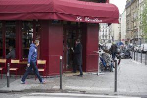 """La cafetería """"Le Carillon"""" Foto:AFP. Imagen Por:"""