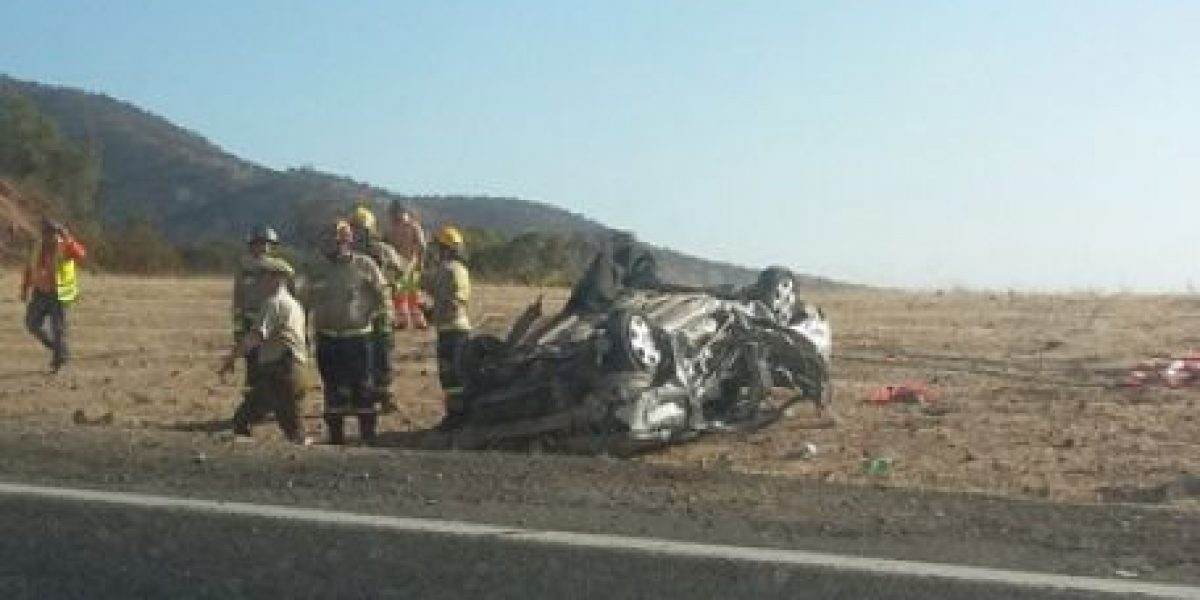Accidente fatal genera alta congestión vehicular en ruta 68