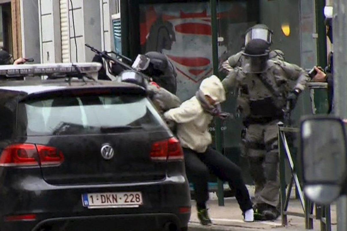 Salah Abdeslam fue detenido en Bélgica Foto:AP. Imagen Por: