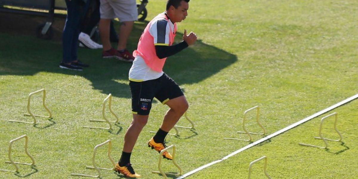 Maldito tobillo: Paredes se quedó con las ganas de ampliar su hito goleador frente a la U