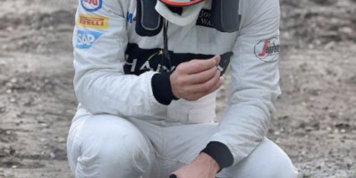 Alonso y su impresionante accidente: