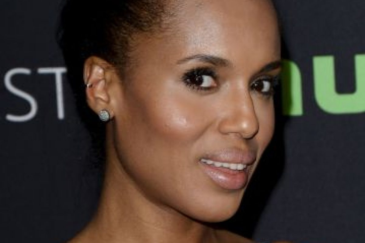 Kerry Washington: A favor Foto: Getty Images. Imagen Por: