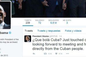 """Mediante su cuenta de Twitter publicó: """"Que bolá Cuba? acabamos de aterrizar. Buscamos reunirnos y escuchar directamente al pueblo cubano"""". Foto:AFP. Imagen Por:"""