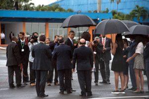 El cual aterrizó en el aeropuerto internacional José Martí de La Habana a las 16:19 horas, tiempo local. Foto:AFP. Imagen Por: