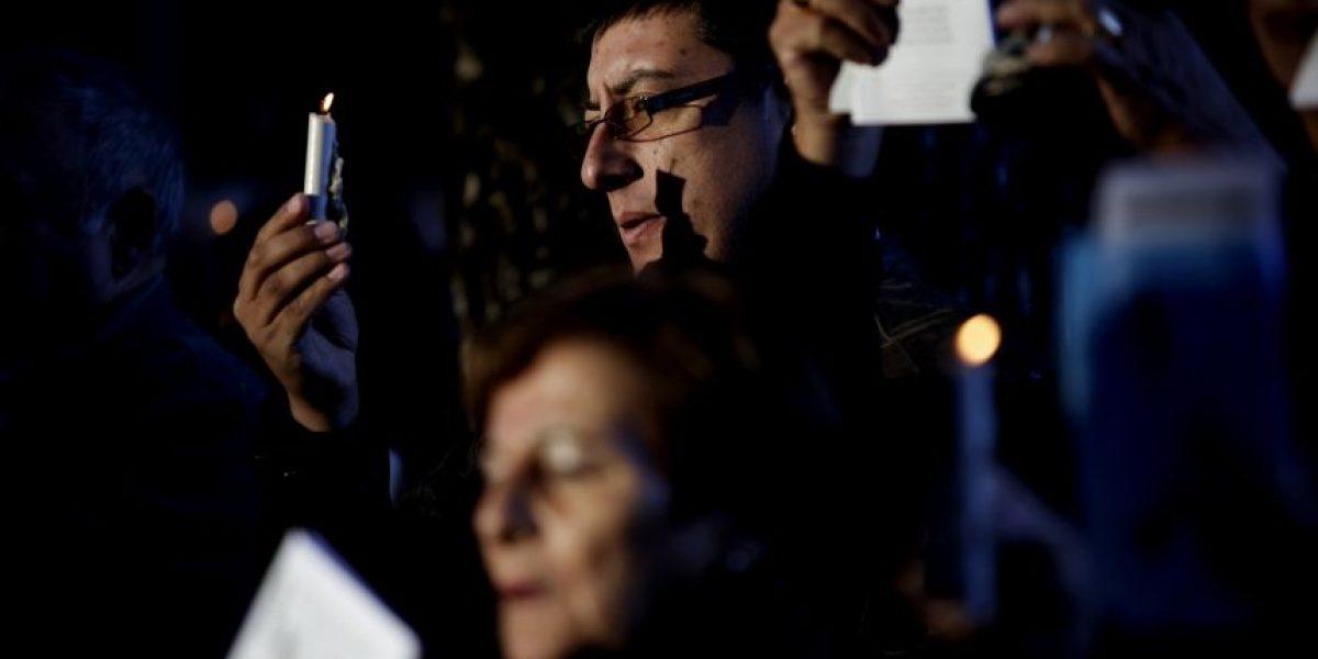 Multitudinaria presencia de fieles en celebración a San Sebastián en Yumbel