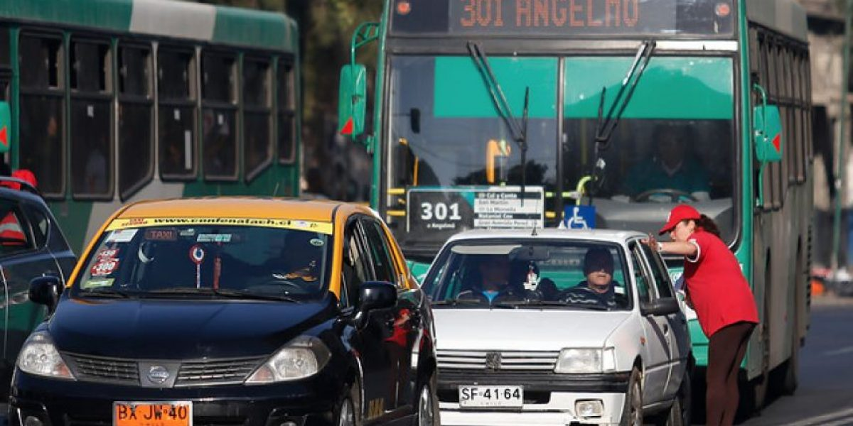 Los 21 nuevos kilómetros de Pistas Sólo Bus que tendrá Transantiago