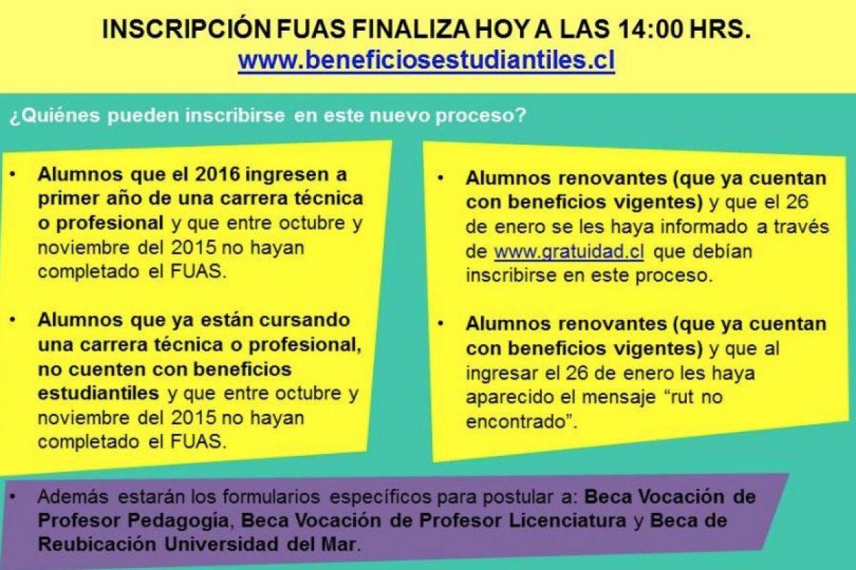 Foto:Reproducción Facebook Estudiar es mi derecho. Imagen Por: