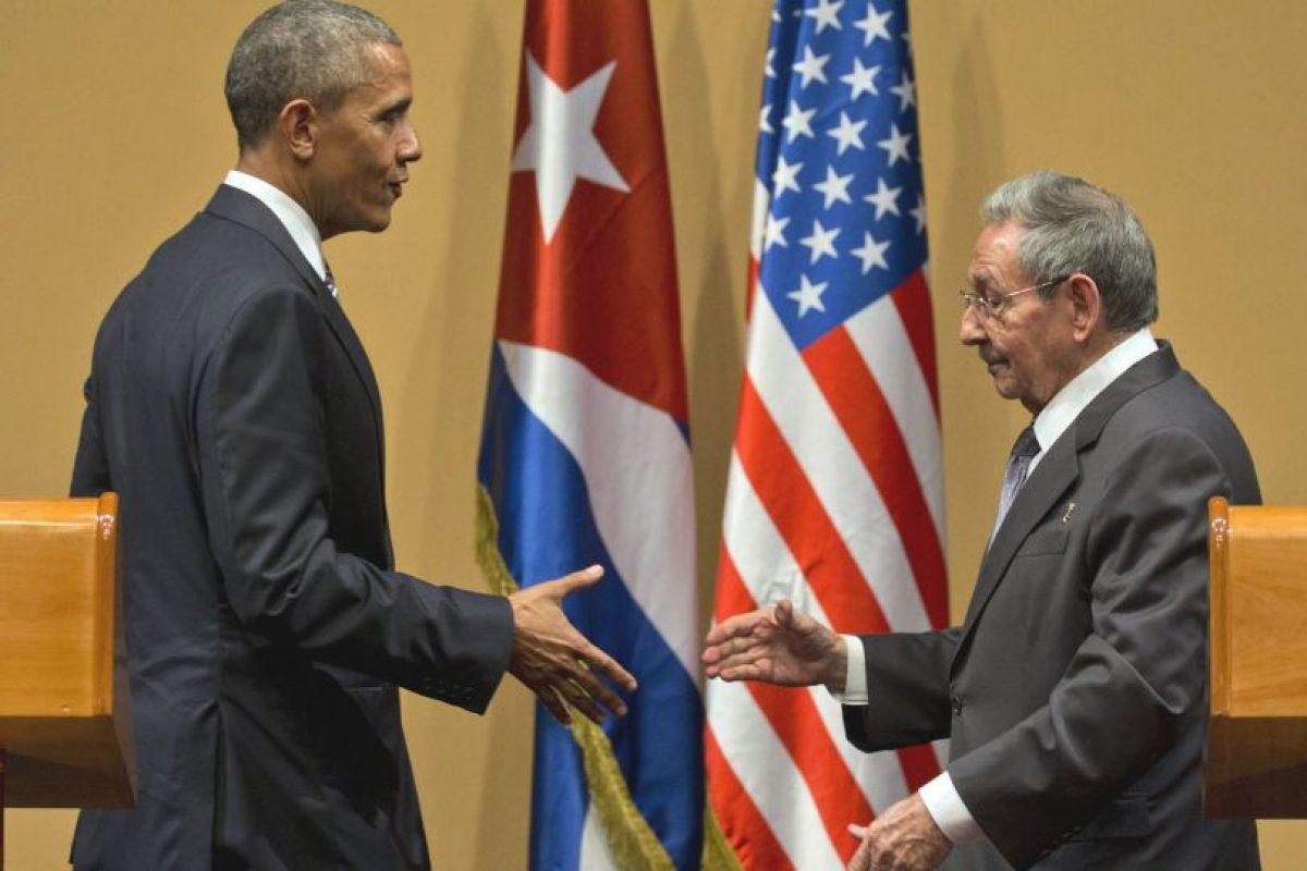 Después de una reunión privada casi dos horas ambos ofrecieron una conferencia de prensa. Foto:AP. Imagen Por: