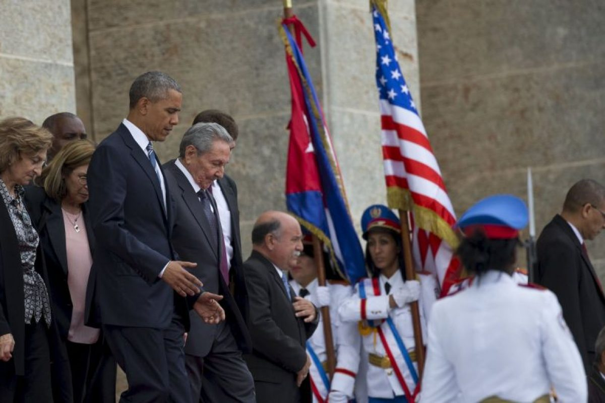 El embargo que existe de parte de Estados Unidos fue señalado como una barrera entre ambos países. Foto:AP. Imagen Por: