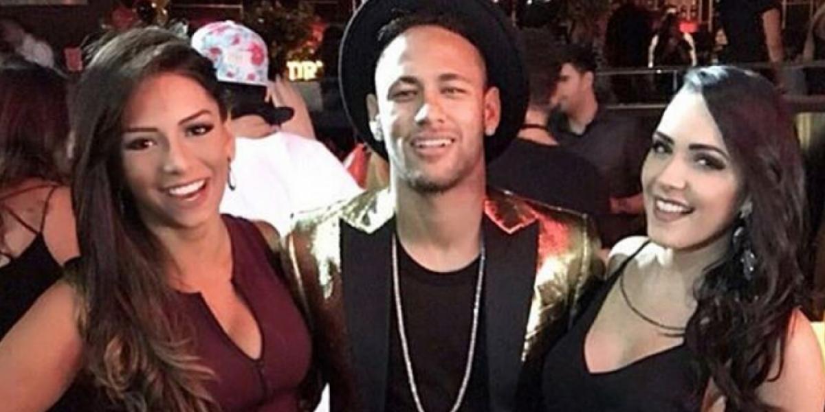 Video: Neymar se fue de fiesta después del empate de Barcelona