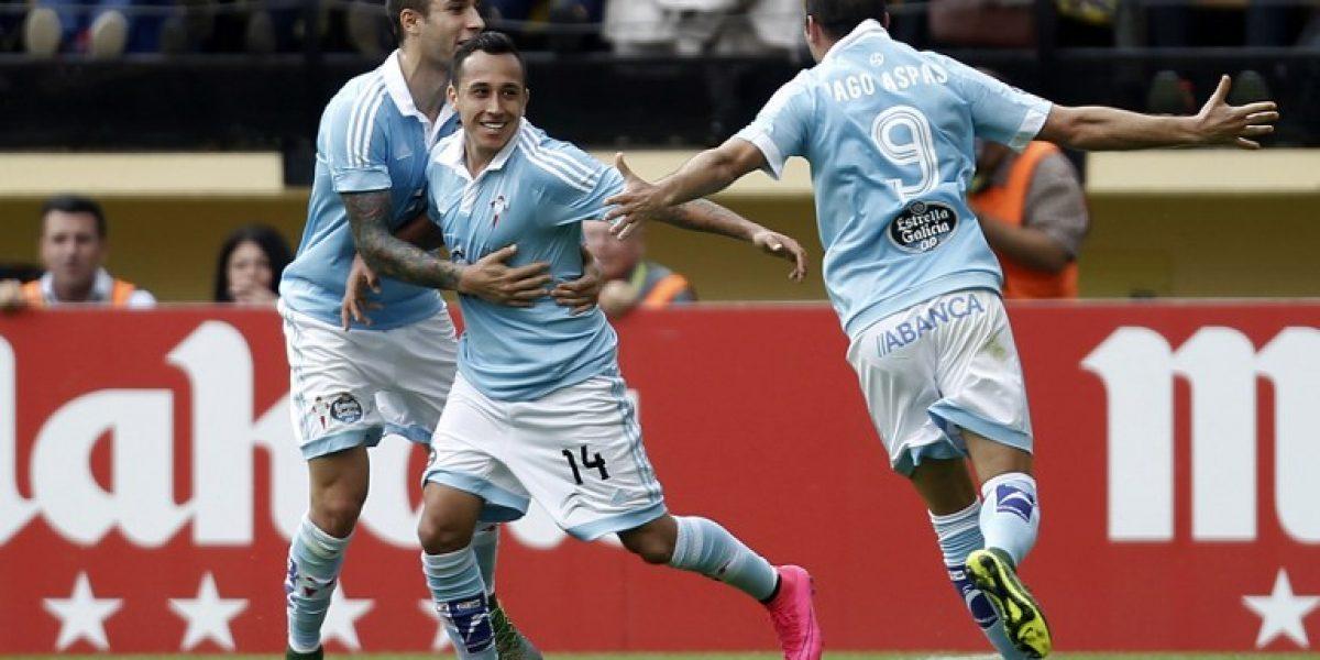 Orellana fue incluido en el once ideal de los latimoamericanos del fútbol europeo