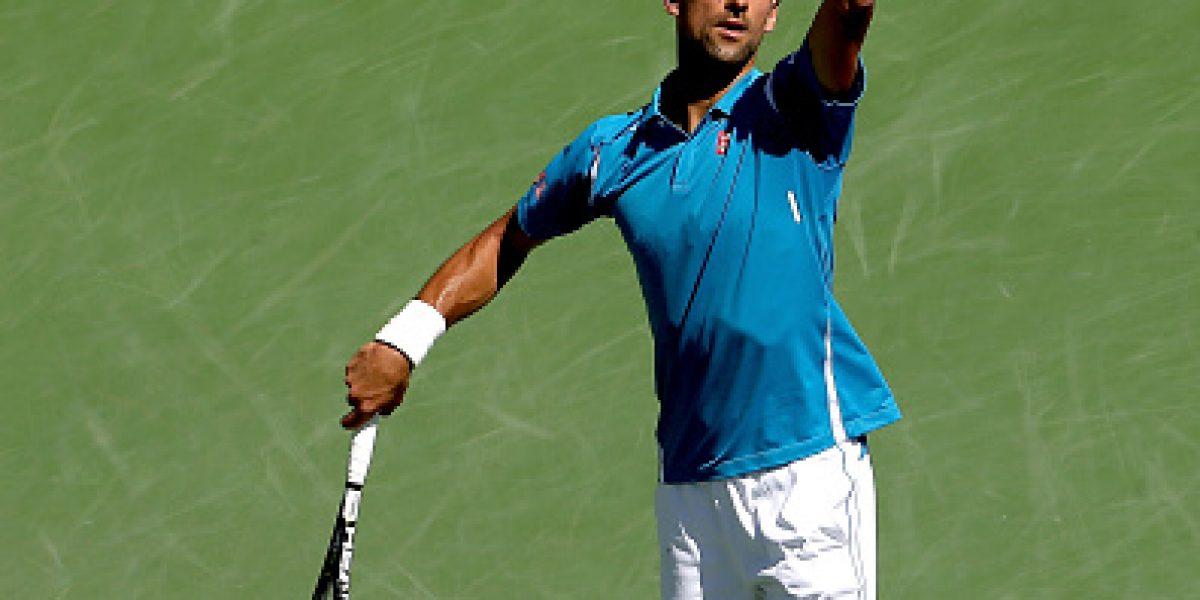Djokovic no tuvo piedad y arrolló a Raonic en la final del Masters 1000 de Indian Wells