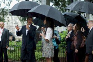 Esto lo hizo acompañado de su familia. Foto:Getty Images. Imagen Por: