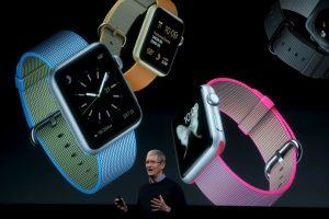 Imágenes de la presentación del Apple Foto:Getty Images. Imagen Por:
