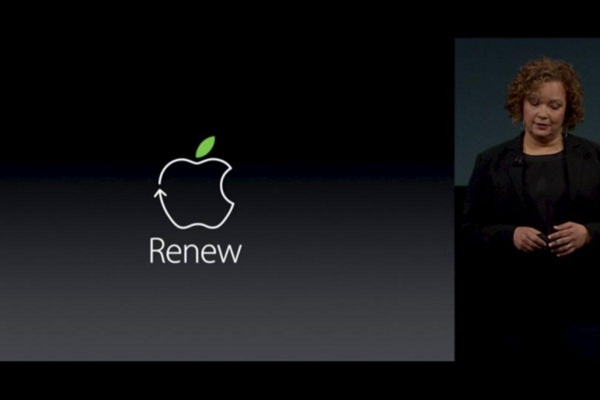 Uno de los aspectos sorprendentes fue la preocupación de Apple por el medio ambiente. Foto:Apple. Imagen Por: