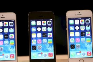 iPhone 5s (2013) Foto: Getty Images. Imagen Por: