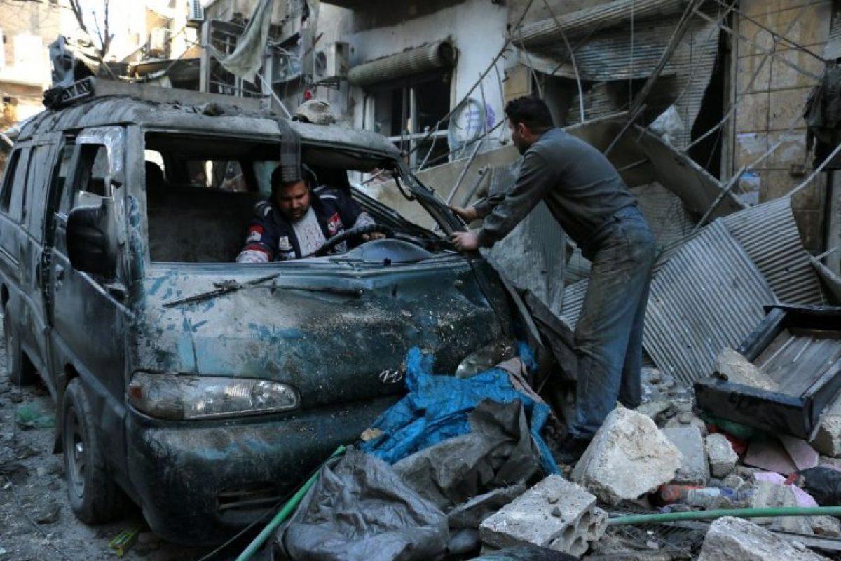 Incluidas varias decenas de niños y mujeres. Foto:AFP. Imagen Por: