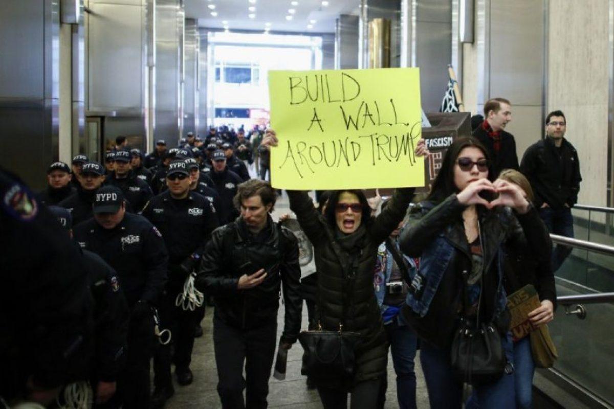 El político del Partido Republicano aprovechó para llamar la atención. Foto:AFP. Imagen Por: