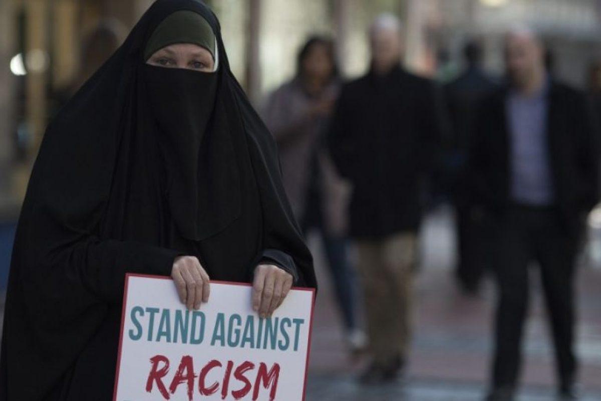 Recordando sus ideas contra la gente de Oriente Medio. Foto:AFP. Imagen Por: