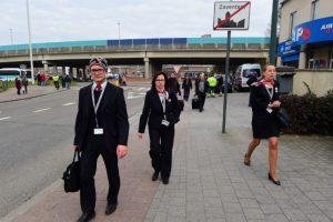 El primero de los ataques se ha producido en el principal aeropuerto de Bélgica, Bruselas-Zaventem. Foto:AFP. Imagen Por: