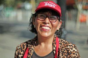 Betty Aguilar Foto:Luis Hidalgo (Municipalidad de Santiago). Imagen Por: