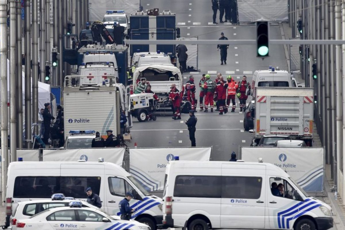 Bruselas convulsionada tras ataques terroristas Foto:AP. Imagen Por: