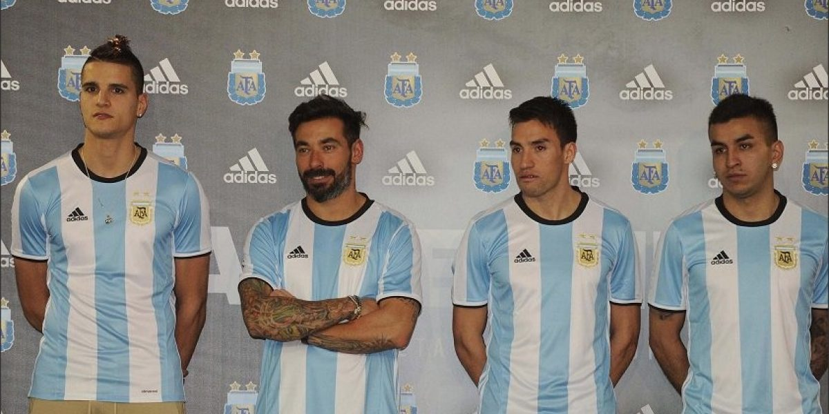 Argentina presentó la nueva camiseta que estrenará ante Chile en el Nacional