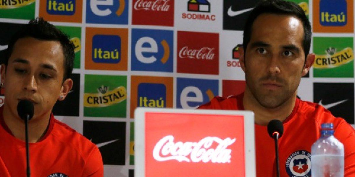 Minuto a minuto: Bravo y Orellana anticiparon el partido ante Argentina