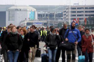 Bruselas convulsionada tras ataques terroristas Foto:Getty Images. Imagen Por: