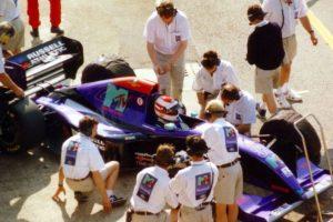 Roland Ratzenberg – 1994 Foto:Getty Images. Imagen Por: