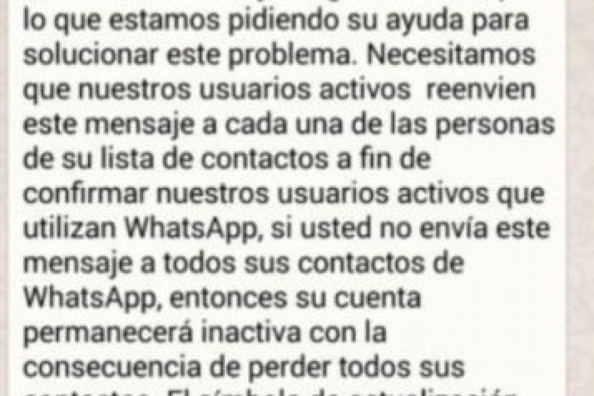 Las cadenas en WhatsApp que todos odian. Foto:Tumblr. Imagen Por:
