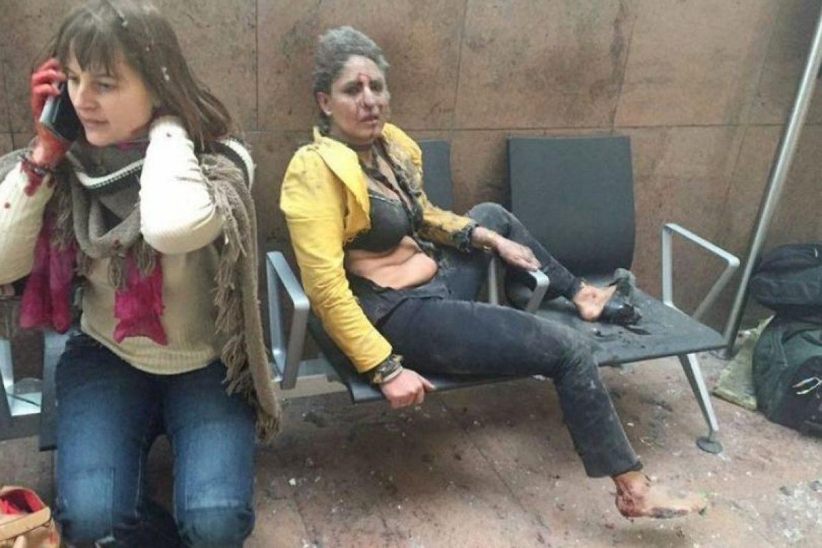 Su nombre es Nidhi Chaphekar y es azafata de Jet Airways Foto:AFP. Imagen Por: