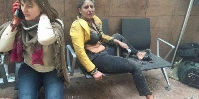 Terrorismo en Bruselas: Mujer de foto viral recién había llegado al aeropuerto