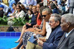 Fueron acompañados por Raúl Castro. Foto:AFP. Imagen Por:
