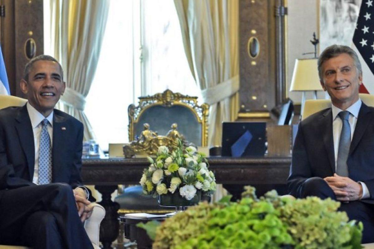 Barack Obama en Argentina Foto:AFP. Imagen Por: