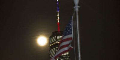 La insólita confusión durante homenaje a víctimas del atentado en Bruselas en Nueva York