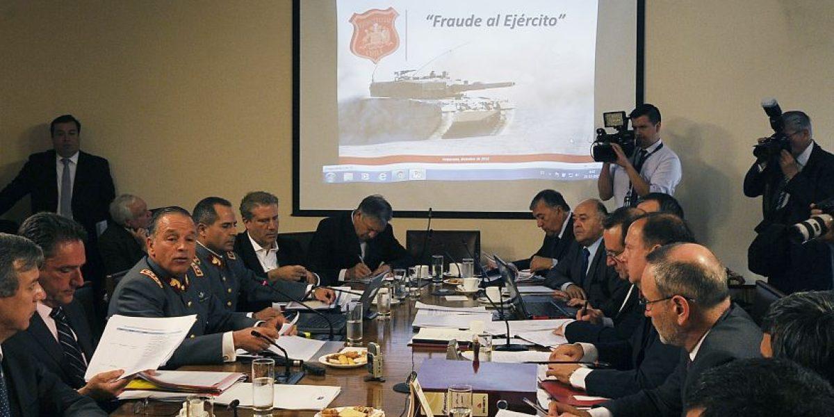 Fraude en el Ejército: Comisión investigadora citará a ex ministros de Defensa