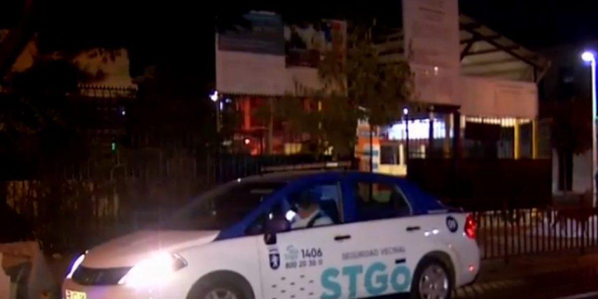Alarma delató a sujetos: robo frustrado afectó a colegio en Santiago