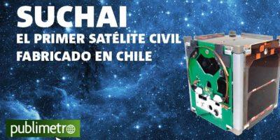 Infografía: Suchai, el primer satélite civil fabricado en chile
