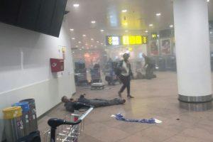 Ocurrió poco después de las ocho de la mañana, en donde hubo una doble explosión. Foto:AP. Imagen Por: