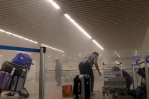 Khalid se hizo explotar en la estación Maelbeek del Metro de Bruselas, mientras que Ibrahim lo hizo en el aeropuerto. Foto:AP. Imagen Por:
