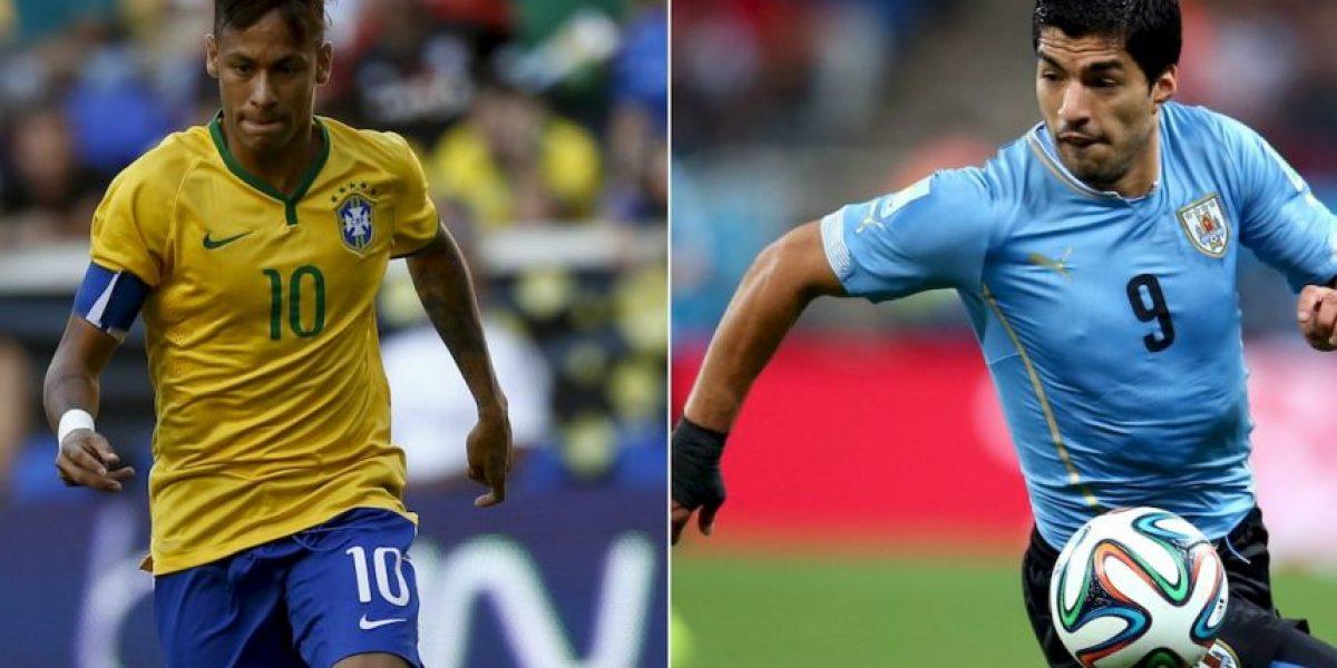 Eliminatoria: Brasil vs. Uruguay, duelo en la cima de Conmebol