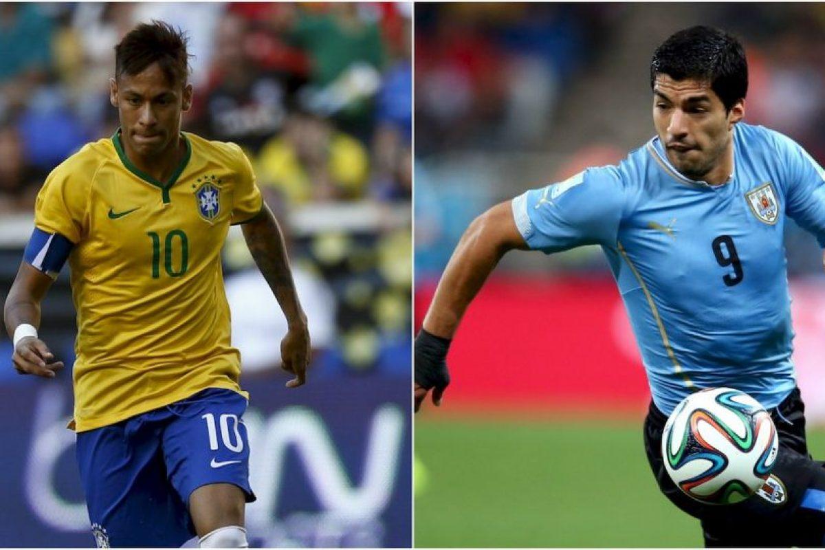 Brasil vs. Uruguay Foto:Getty Images. Imagen Por: