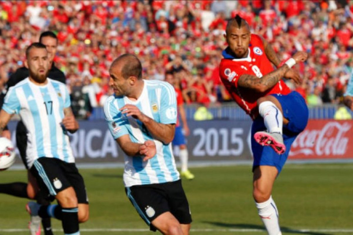 Chile vs. Argentina Foto: Getty Images. Imagen Por: