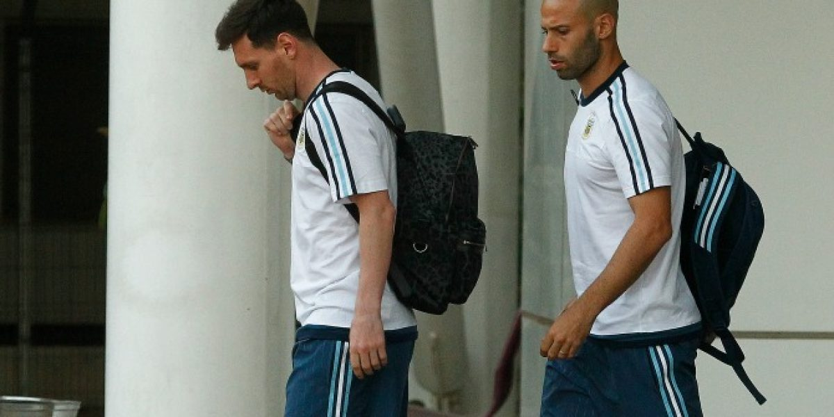 Llegó el rival: Argentina arribó al país para enfrentar a Chile