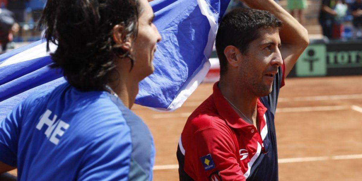 Podlipnik y Peralta se instalaron en semifinales de Potosí y siguen con el sueño de Rio 2016