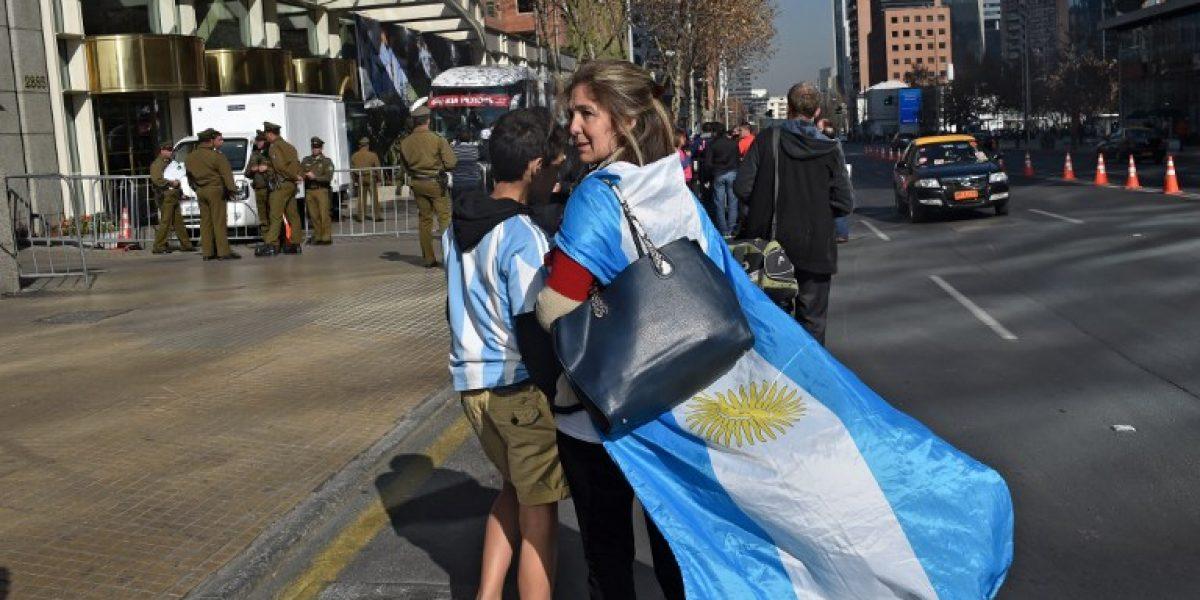 Argentina recurre a las cábalas para elegir hotel en Santiago