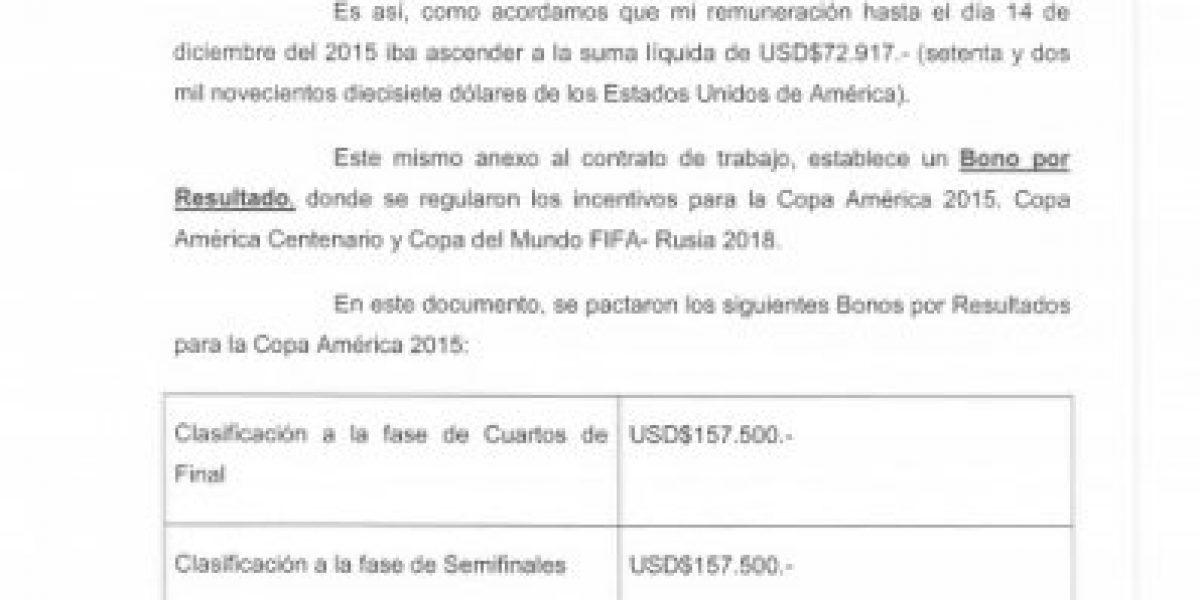 La nueva demanda de Beccacece a la ANFP por casi un millón y medio de dólares