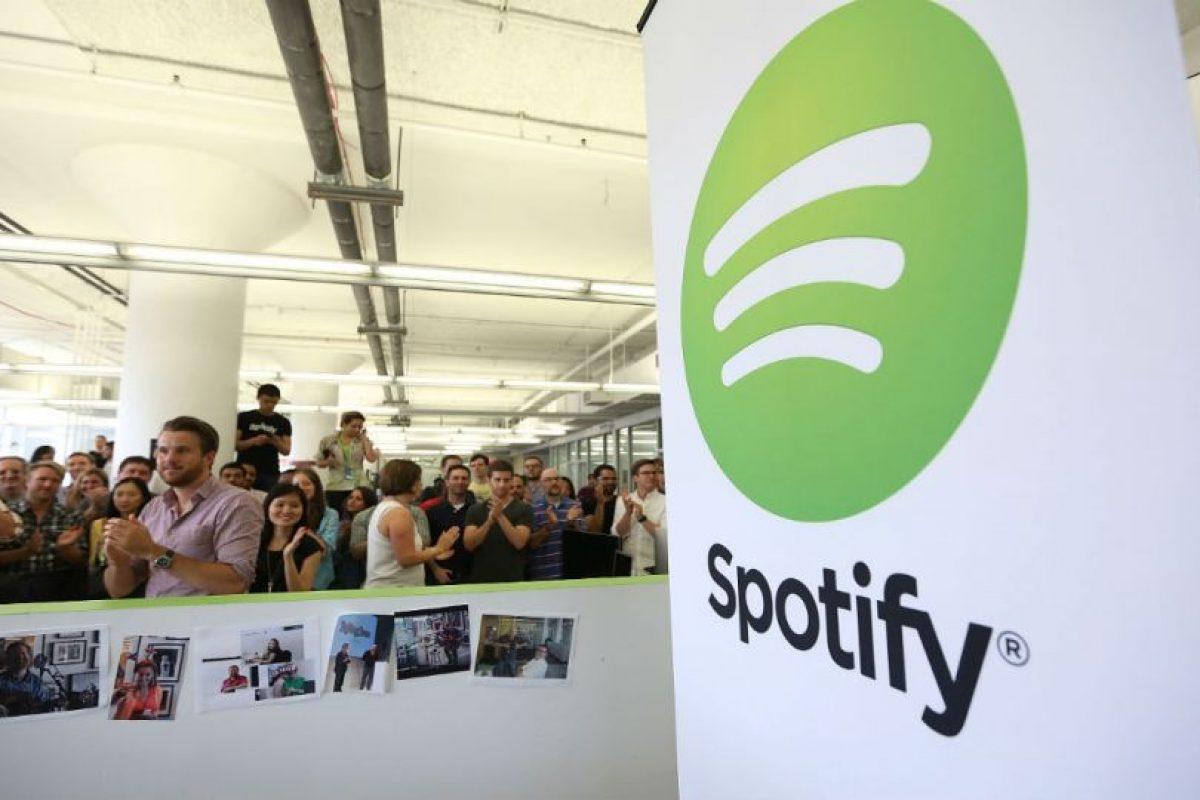 Spotify es la plataforma más importante de música actualmente. Foto:Getty Images. Imagen Por: