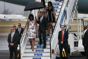 Obama y su familia llegaron el 20 de marzo a la isla. Foto:Getty Images. Imagen Por: